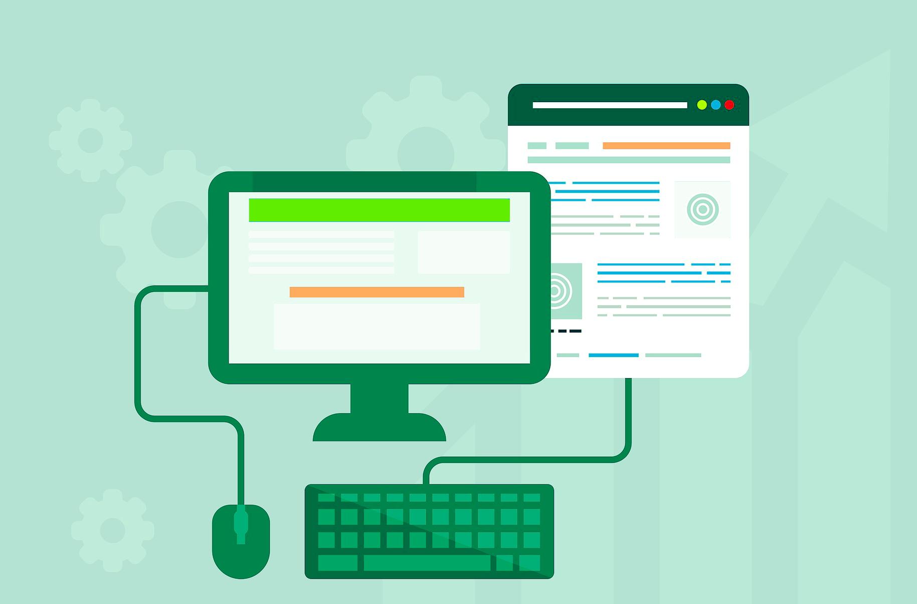formation communication digitale créer un site web